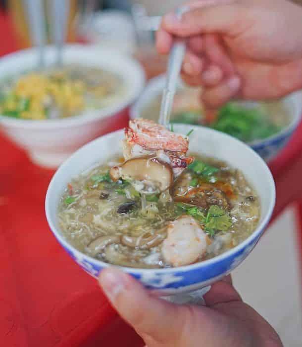 súp cua bong bong cá