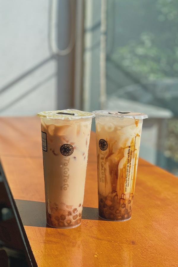 Ảnh 1: Hai món nước mới của trà sữa TocoToco