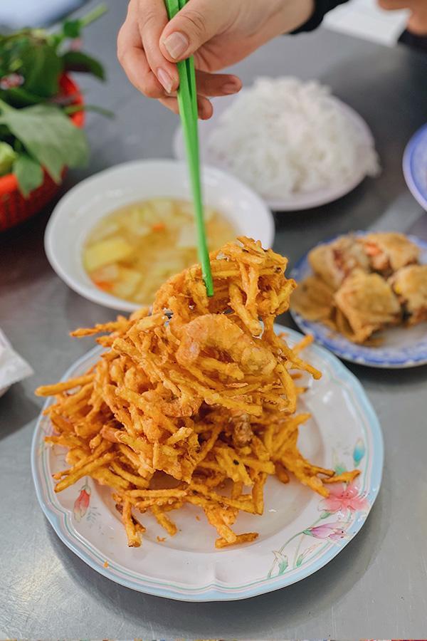 Ảnh 10: Bánh tôm chiên Hà Nội