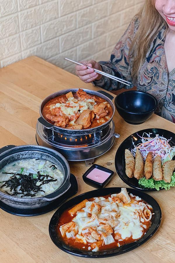 Đồ ăn Hàn Quốc giá rẻ