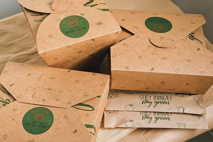 Ảnh 9: Hộp bánh thân thiện với môi trường