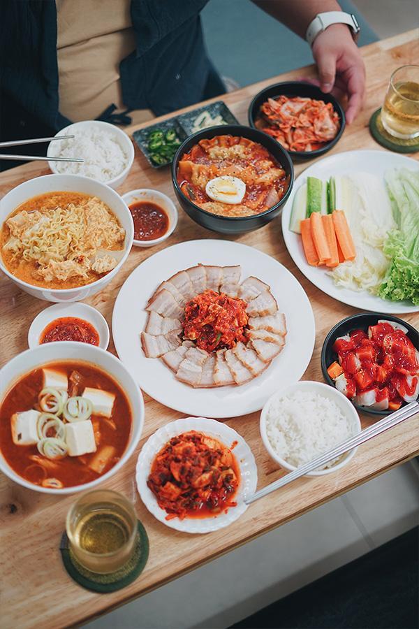 Món Hàn ngon
