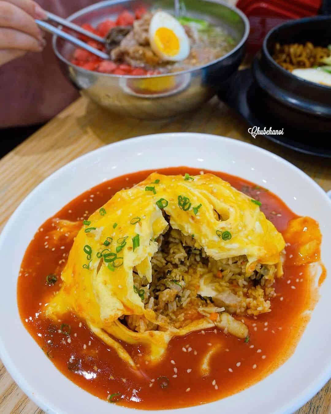 quán ăn Hàn Quốc