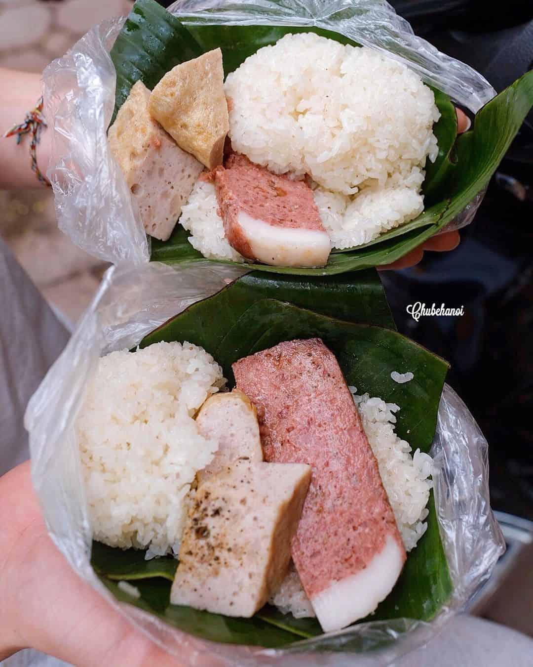 ăn sáng ngon Hà Nội