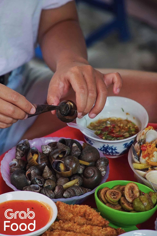 Ốc ngon ở Hà Nội