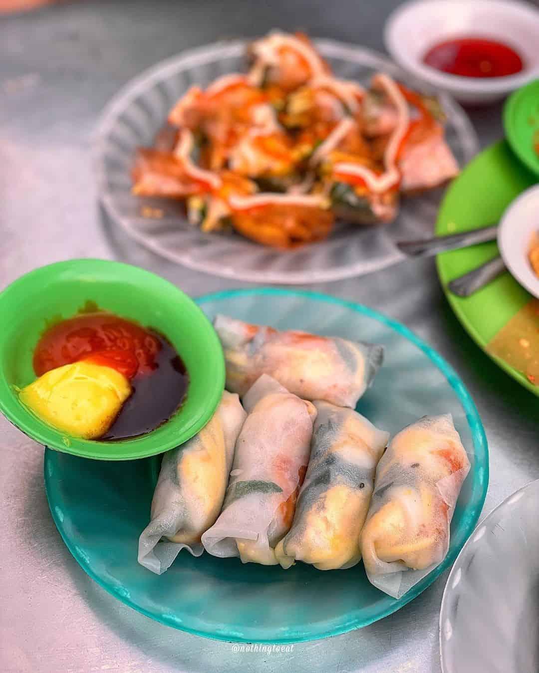 món ăn vặt xế chiều Đà Nẵng