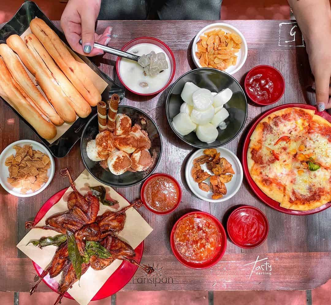 quán ăn vặt mát lạnh ở Hà Nội