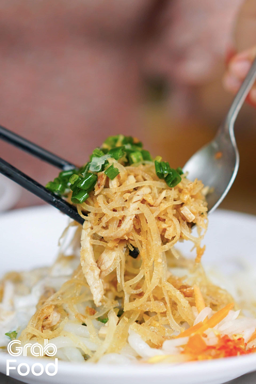 bánh tằm bì ngon ở Sài Gòn