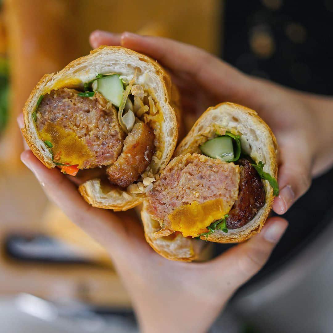 bánh mì ngon ở Sài Gòn
