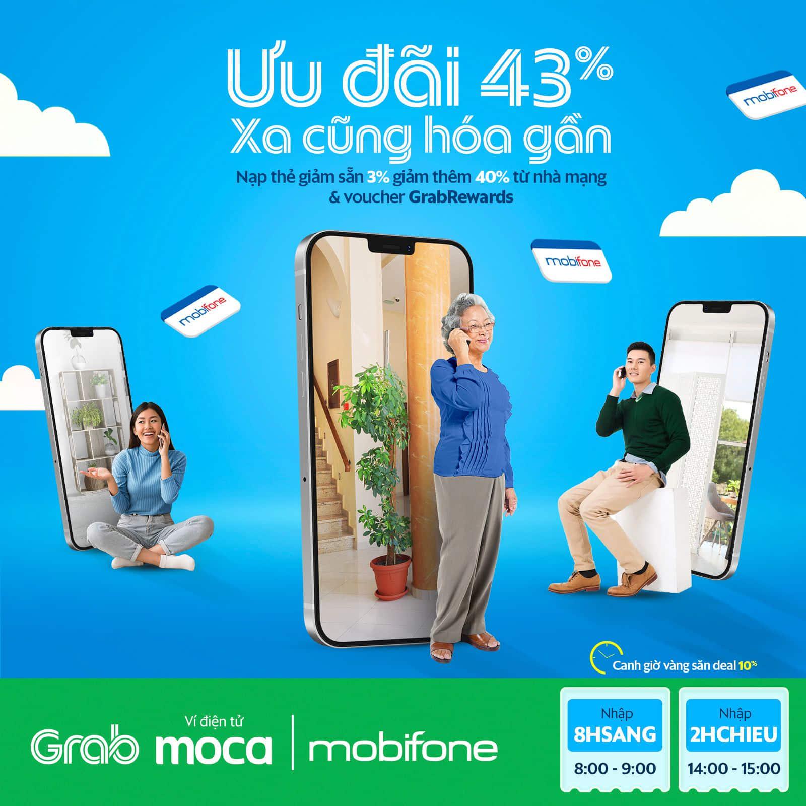 Ưu đãi 43% MobiFone