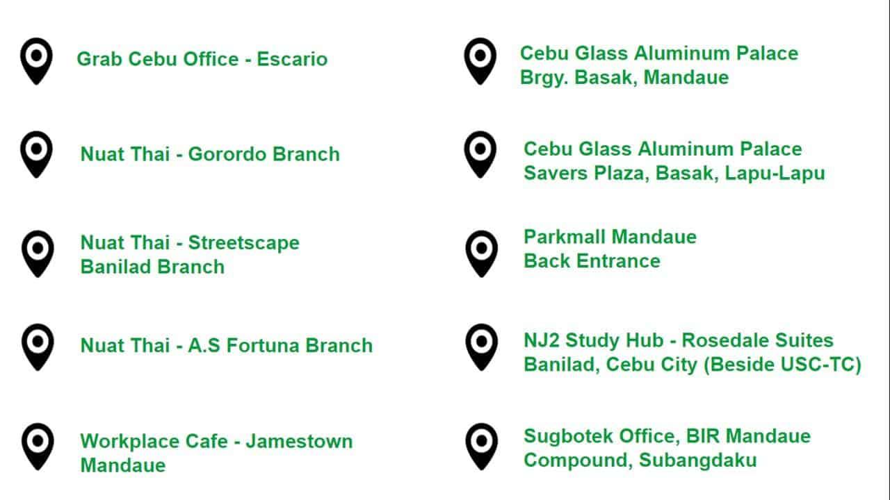 GrabBayanihan – Mandaue, Cebu: Deliver your donations for