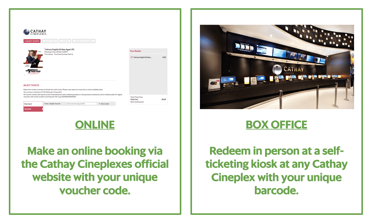 GrabPay for super-powered savings at Cathay Cineplexes