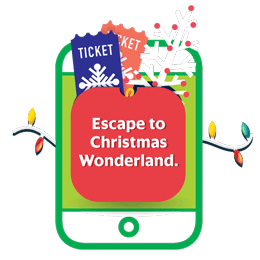 Escape to Christmas Wonderland.