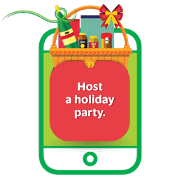 host a holiday party.