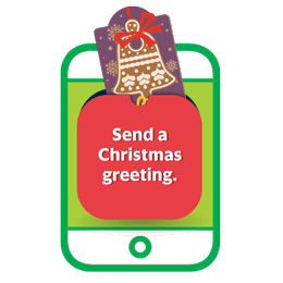 Send a Christmass greeting.