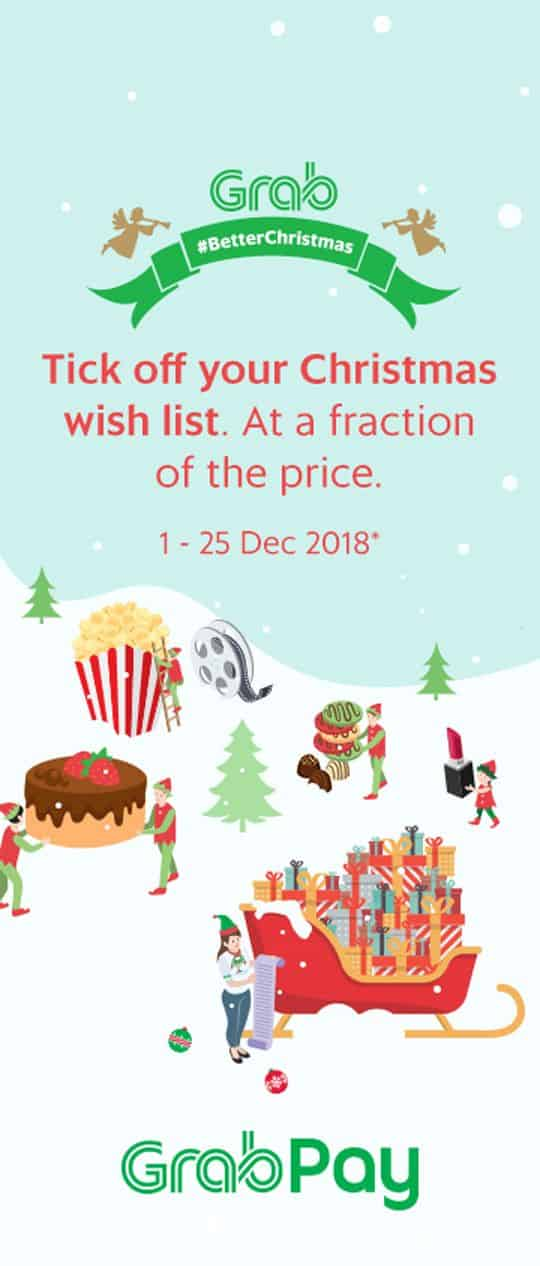 Tick off your Christmas wish list. At a fraction of the price. 1- 25 Dec 2018*