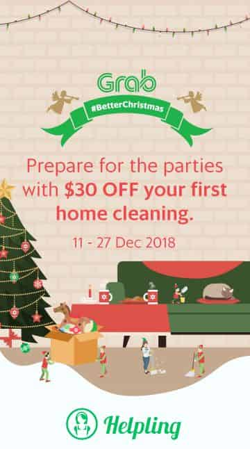 Prepare for the parties with $30 OFF your first home cleaning 11-27 Dec 2018