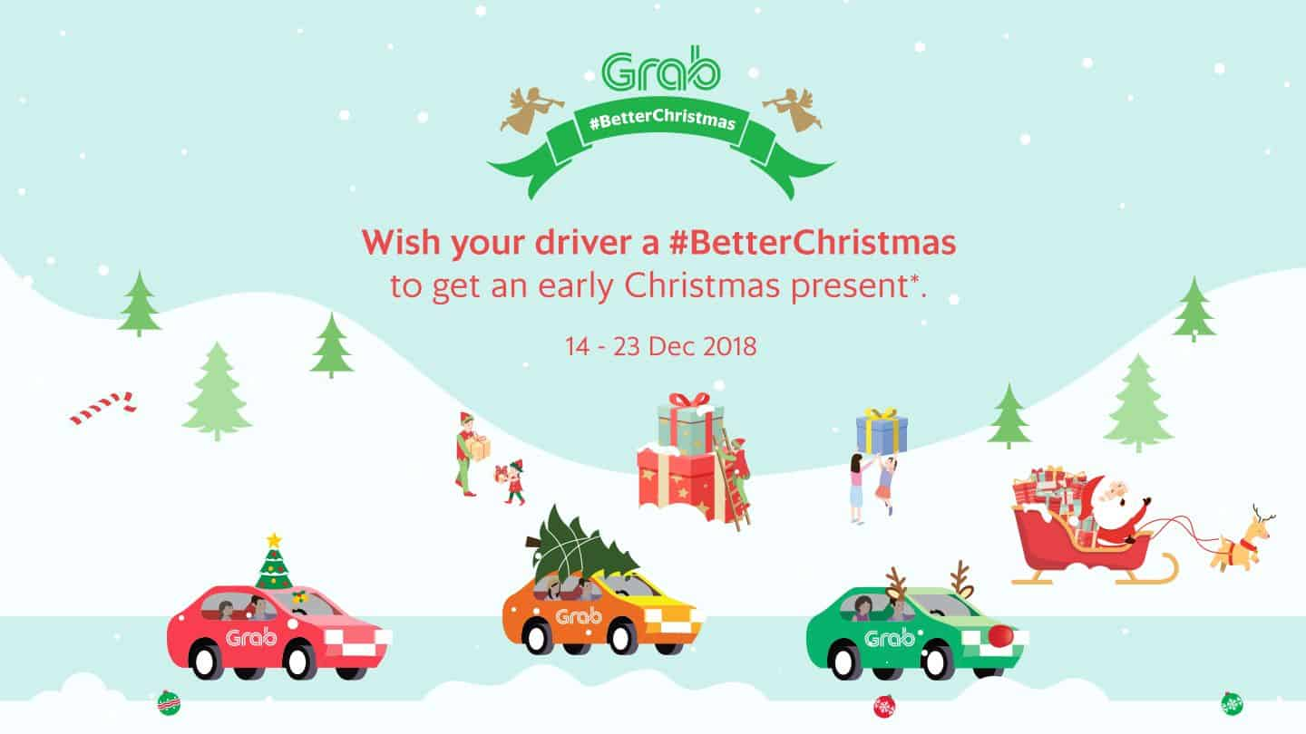 Wish your driver a #BetterChristmas to get an early Christmas present* 14 - 23 Dec 2018