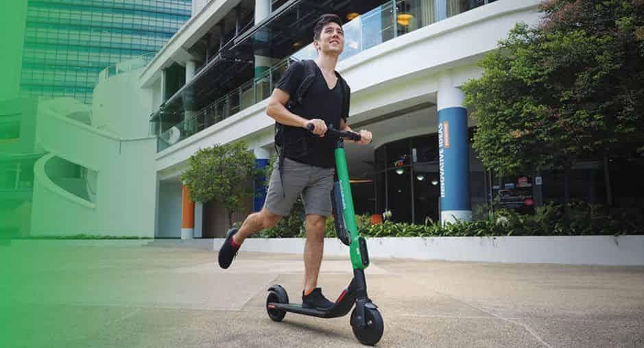 Grabwheels Escooters Rentals Singapore Grab Sg
