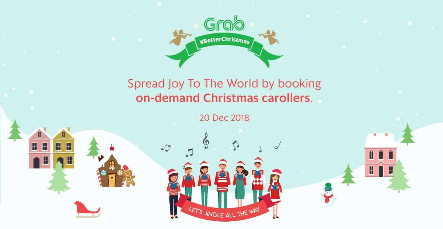 Spred Joy To The World by booking on-demand Christmas carollers. 20 Dec 2018