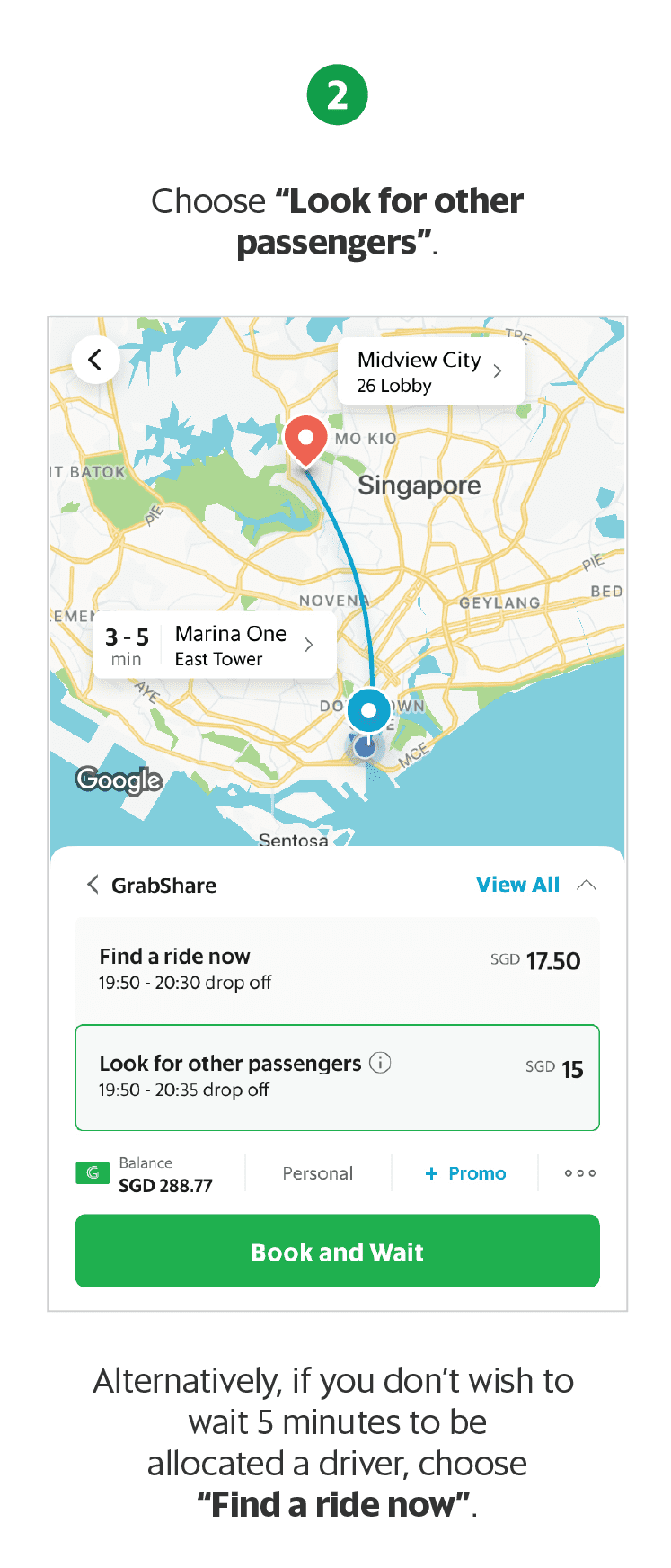 GrabShare – Real Time Ride Sharing Service | Grab SG
