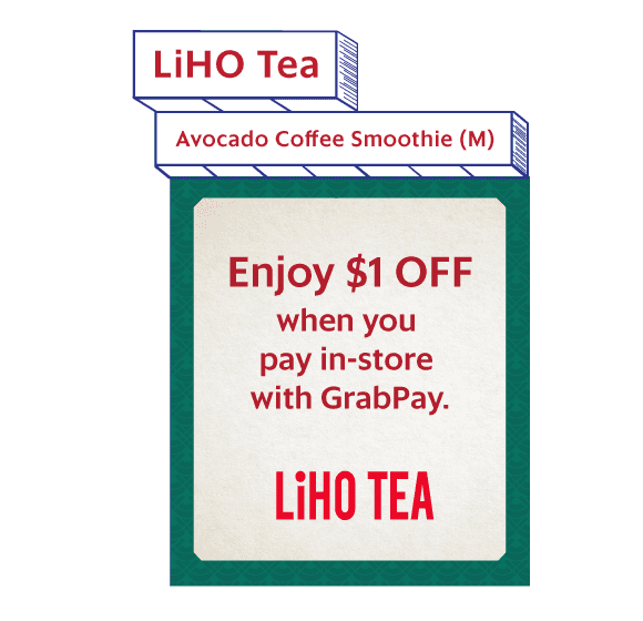 Enjoy $1 OFF when you pay in-store with GrabPay. Or order from GrabFood with promo code '1965SMOOTHIE'