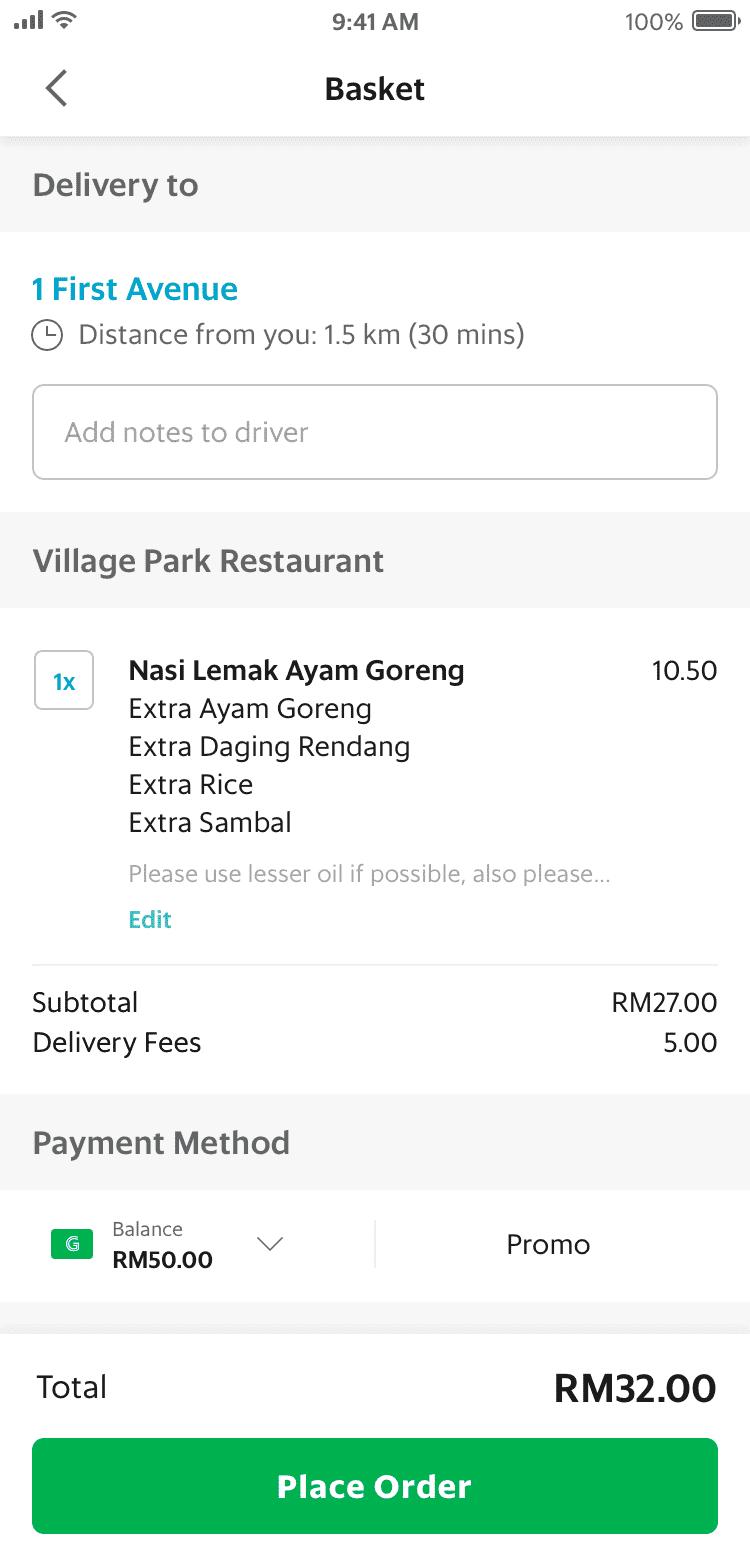 GrabFood: Order Food Online To Your Doorstep | Grab MY