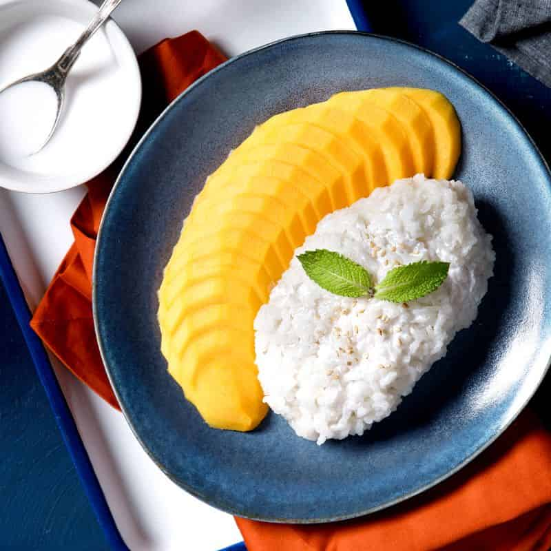 mango sticky rice food delivery malaysia