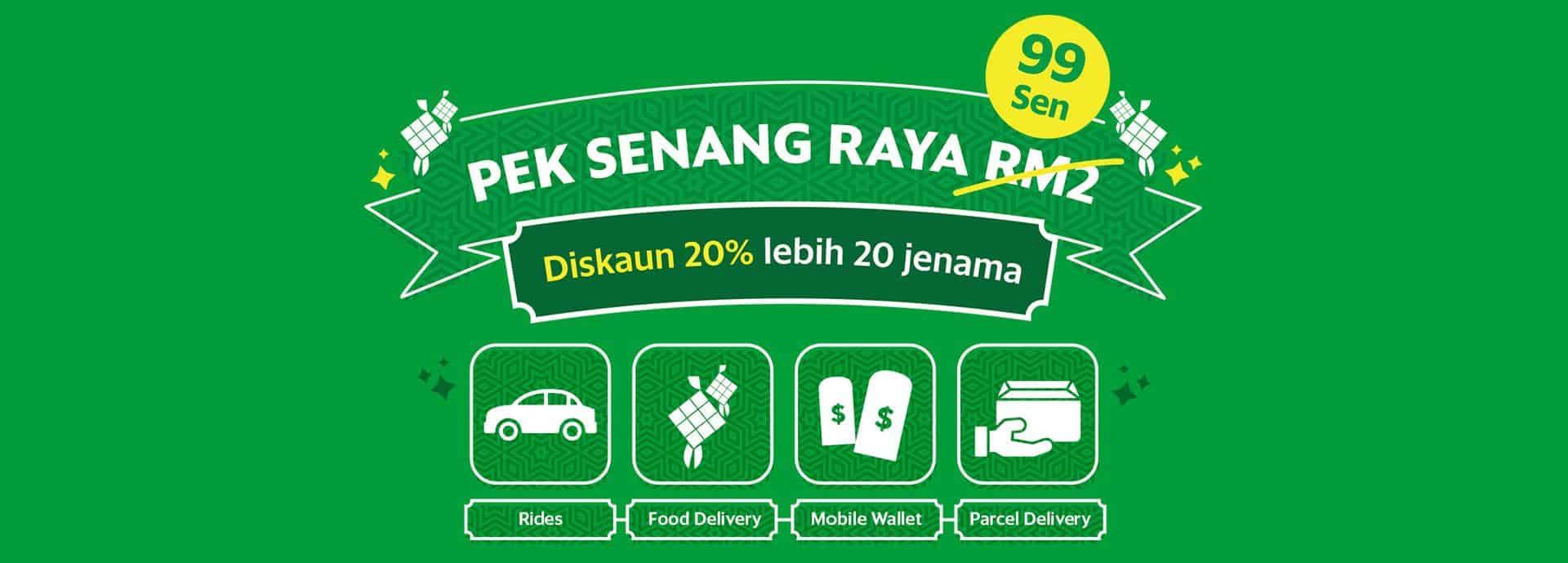 Senang Raya Jimat RM600 dengan Rm2 - Rides . Food Delivery . Mobile Wallet .  Parcel Delivery