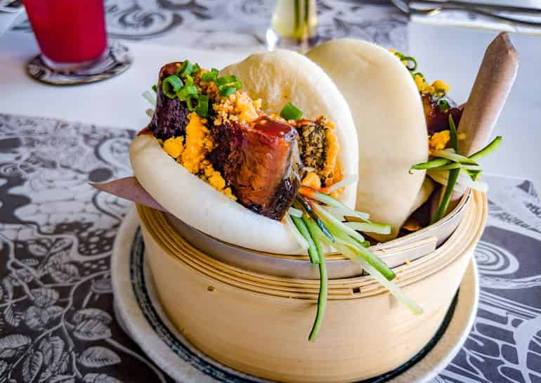 KL's best brunches: Wizard at Tribeca's bao filled with spicy unagi and cucumber