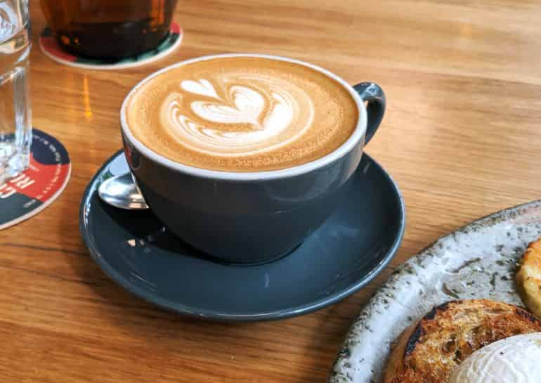 Best coffee shops in KL: Common Man Coffee Roasters latte