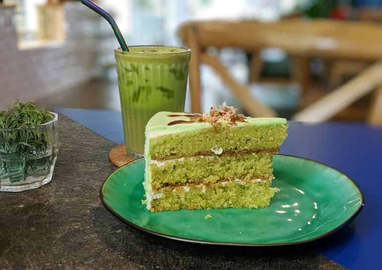 KL's best birthday cakes: the pandan gula melaka cake at Kiara Cakes