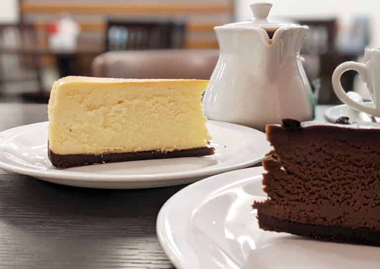KL's best birthday cakes: the chocolate cheesecake and New York cheesecake at Secret Recipe