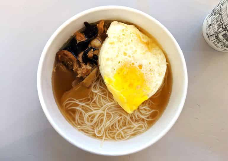 Sri Petaling food guide KL: Sesame oil chicken soup mee suah at Ages Ago