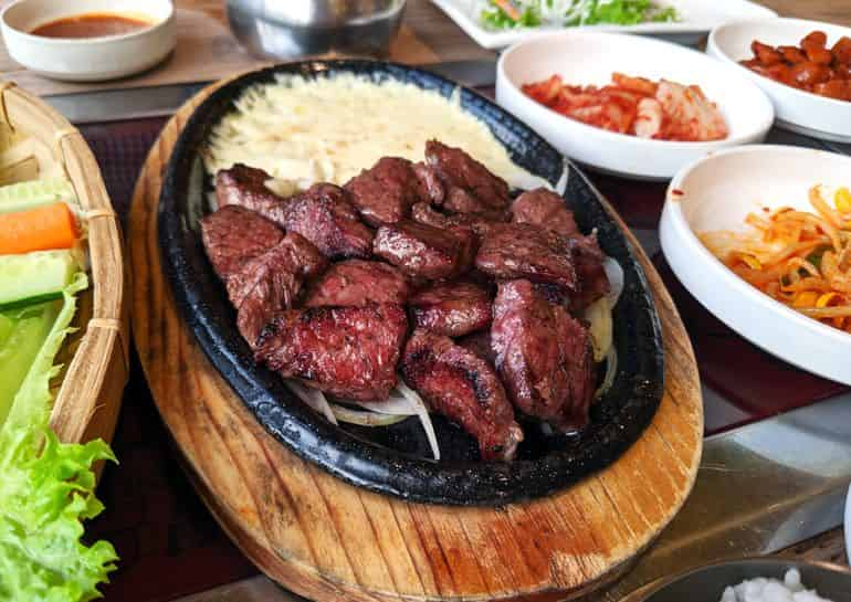 Sri Petaling food guide KL: The beef couple set at Midam Korean BBQ