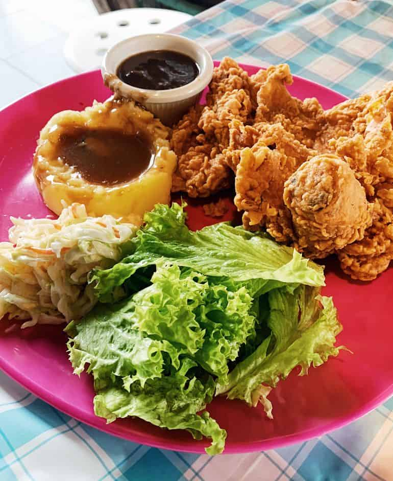 Best cheap eats in KL: Deep Fried Chicken Chop at Charlie's Café