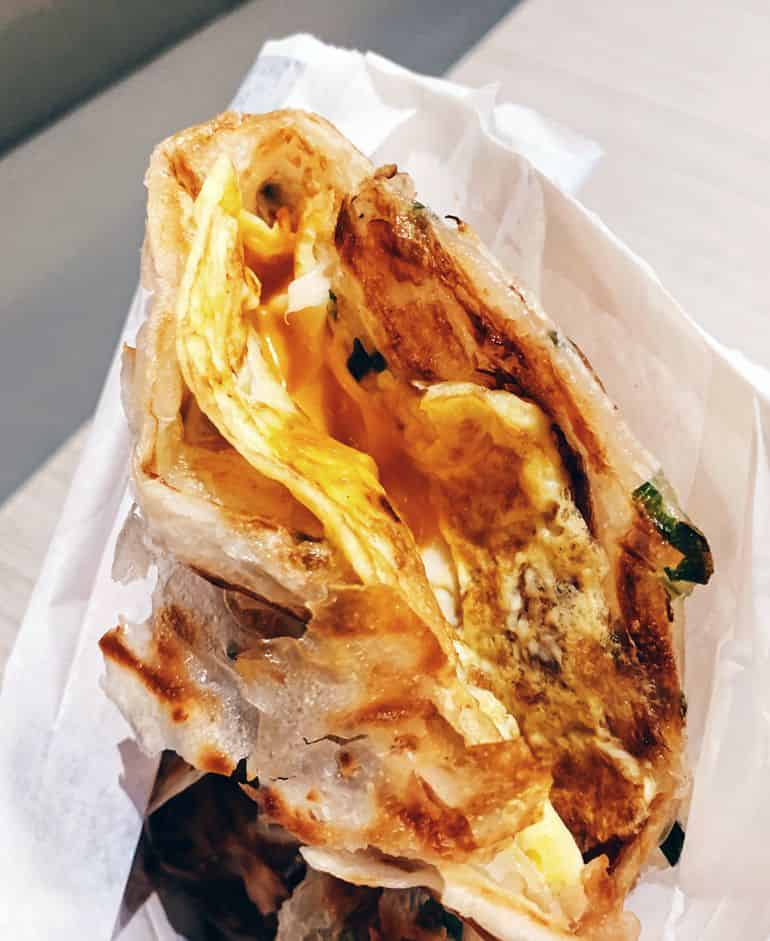 Best Cheap Eats in KL: Liang Sandwich Bar's Egg and Cheese Sandwich