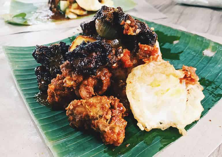 Best cheap eats in KL: D'Naim Nasi Kukus with kicap