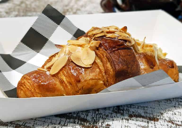 Best bakeries in Kuala Lumpur: The almond croissant at Ben's Bake Shop