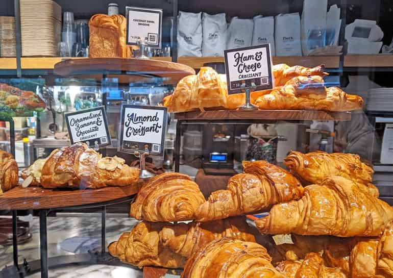 Best bakeries in Kuala Lumpur: Display of pastries at Ben's Bake Shop