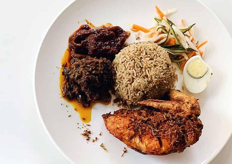 Food guide to TTDI Kuala Lumpur: Nasi bojari at dua by skohns in ttdi