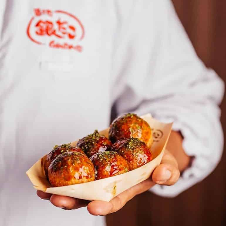 Halal Asian restaurants in KL: Japanese takoyaki at Gindaco