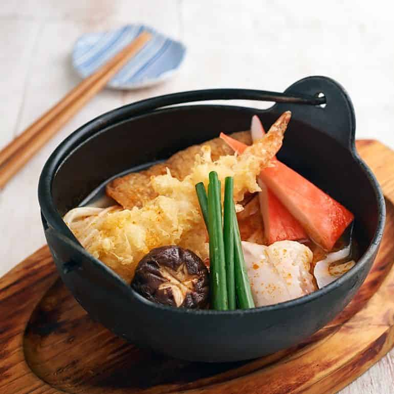 Halal Asian restaurants in KL: Japanese nabe hotpot at sushi king