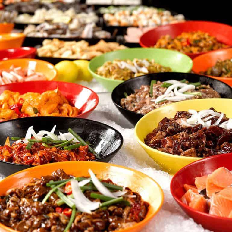 Halal Asian restaurants in KL: Meat cuts at Korean restaurant Seoul Garden Hot Pot