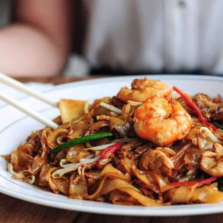 Halal Asian restaurants in KL: Malaysian Char kway teow at madam kwan's