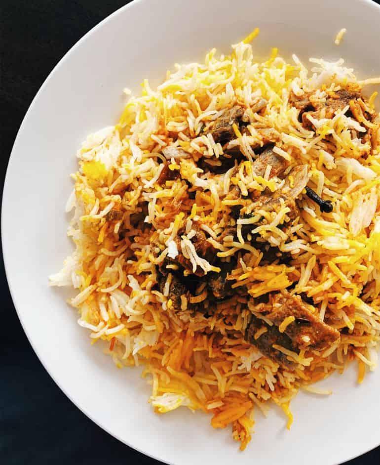 Best nasi briyani in KL: Rusa briyani at Beriani Asif