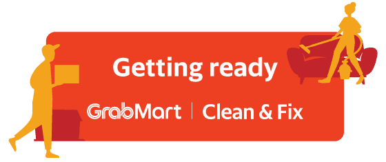Getting ready - GrabMart -  Clean & Fix