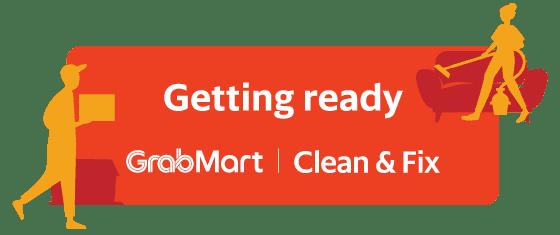 Getting ready - GrabMart -  Clean & Fix