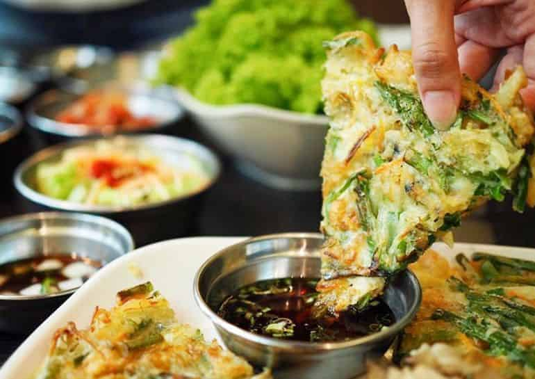 Best Korean food in KL: Korean pancake at Shinmapo Korean bbq