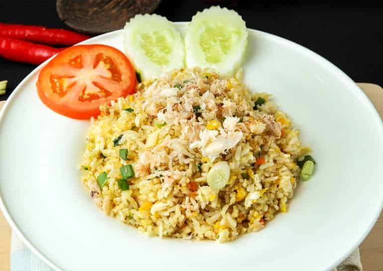 Best Thai restaurants in KL: Crabmeat fried rice at Lobbee Thai Connection
